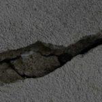 Crepe nei muri pericolose
