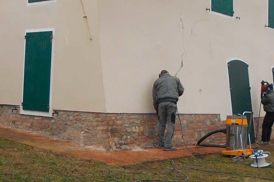 Consolidamento con Iniezione di Resine Espandenti a Salsomaggiore Terme